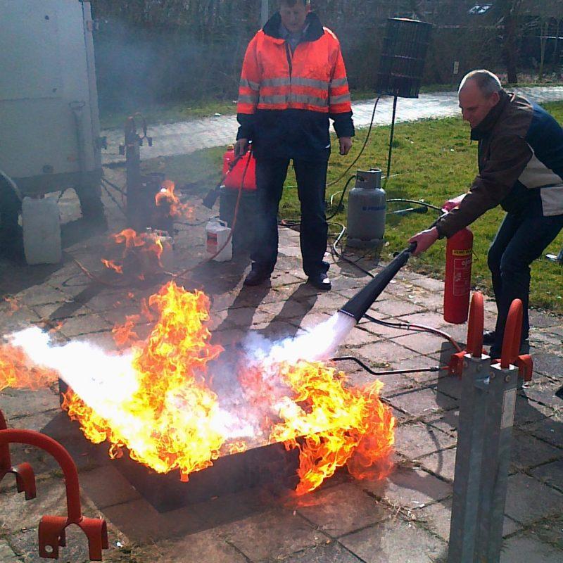 BHV cursus en brandbestrijding